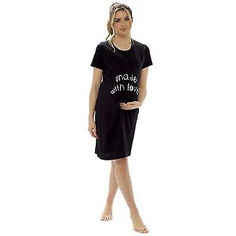 Foxbury Ladies/Womens Maternity Made With Love Nightie