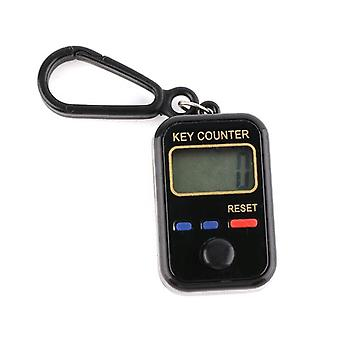 Lcd Digit Electronic Tally Counter Keychain Finger Counter