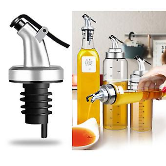 Distributeur de boissons alcoolisées à l'huile d'olive ABS Lock Wine Pourers Flip Top Drink Wine Stopper Leak-proof Nozzle Kitchen Tools