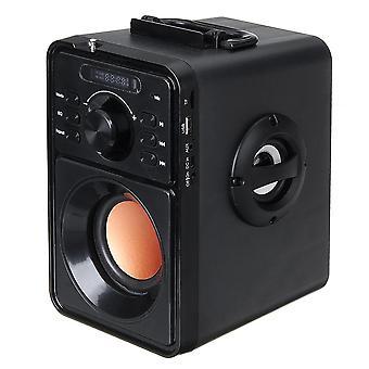 اللاسلكية بلوتوث المتكلم الثقيلة باس ستيريو الصوت المحيطي مشغل الموسيقى المحمولة مع FM TF