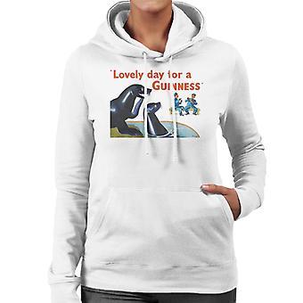Guinness Seals Women's Hooded Sweatshirt