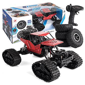 Cross-country Climbing Car, Drive Alloy Track Off-road Remote Control.