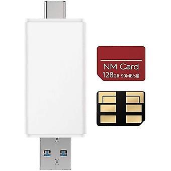 FengChun Kartenleser und Nanomemory Speicherkarte 128GB