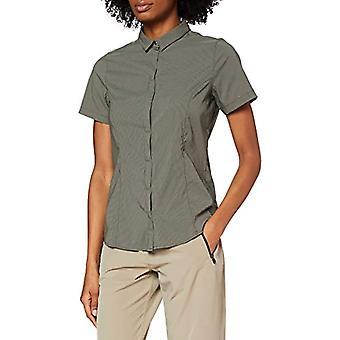 ג'ק וולפסקין Jwp Hemd, חולצת נשים, אורן ירוק-ירוק, XS