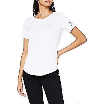 G-STAR RAW Mysid Optic Slim T-Shirt, Vit C506-110, S Kvinna