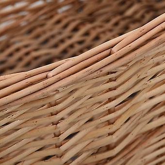 cesto in legno vidaXL con maniglie 88 x 57 x 34 cm pascolo naturale