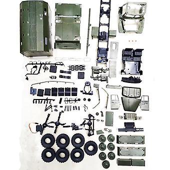 Rc bil militær lastebil rock crawler, kommando kommunikasjon, kjøretøy rtr leketøy