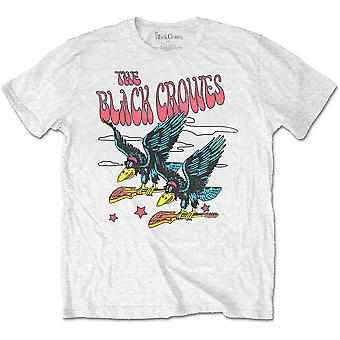 The Black Crowes - Flying Crowes Unisex XX-Large T-paita - Valkoinen