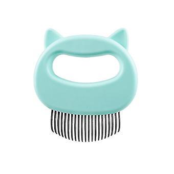 Erityinen hiusten strippari koirille ja kissoille, lemmikkieläinten pitkät hiukset ja lyhyt hiuskampa (vihreä)