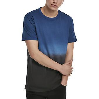 Urban Classics - DIB DYED Shirt navy / zwart