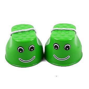 Deti Smile Jumping Stilts Vonkajšie plastové váhy Tréningové zariadenia Koordinačné hry Stilts