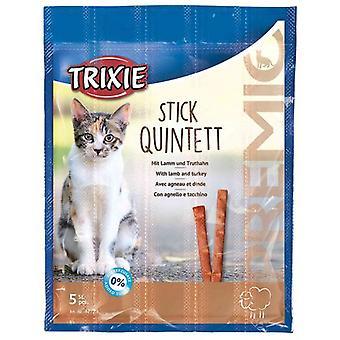 Trixie Premio Quadro tarttuu kissa välipala (kissat, kohtelee, syötävä sauvat)