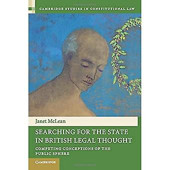 Searching for the State in British Legal Thought (Cambridge Studies in Constitutional Law)