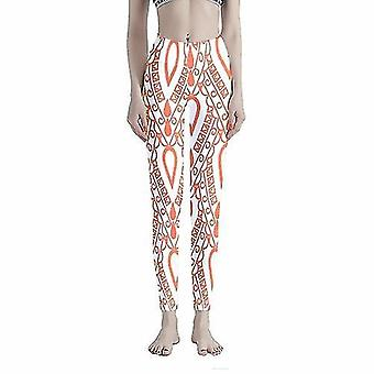 Hosiery colorful xmas pattern women's workout leggings