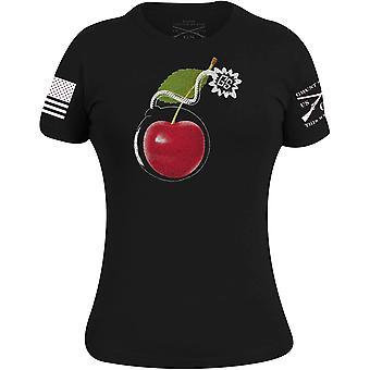 Grunt Style Women's Cherry Bomb T-Shirt - Black