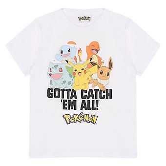 Pokemon Group Gotta Catch Em Alle meisjes T-Shirt | Officiële merchandise