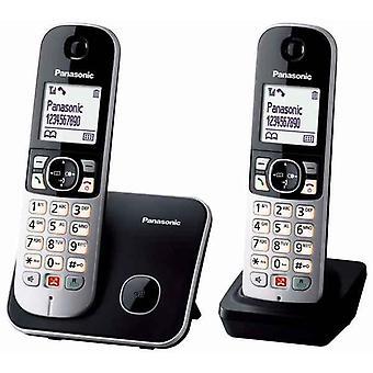 Langaton puhelin Panasonic Corp. KX-TG6852SPB DUO Musta