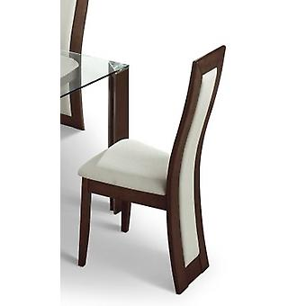 Mist Padded Dining Chair Wood Fully Assembled