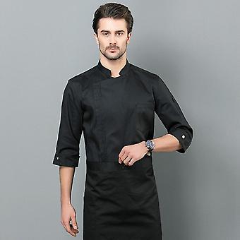 Food Service Langarm Professional Chef Koch Uniform