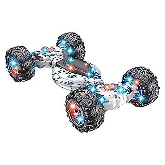 Toy cars rc car 4wd radio control stunt car gesture induction twisting off road vehicle light music drift toy