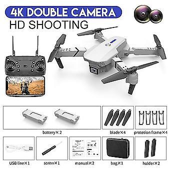 Mini drón professzionális légi fotózás wifi fpv gps 4k hd kettős kamera magasságtartó quadcopter