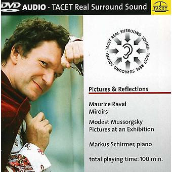 Ravel/Mussorgsky - Pictures & Reflections [DVD-Audio] USA import