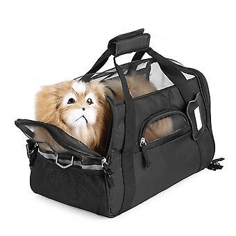 600d Nylon Wasserdichte Hund Katze Welpen Kätzchen Tasche Haustier Auto Träger Outdoor Reisen