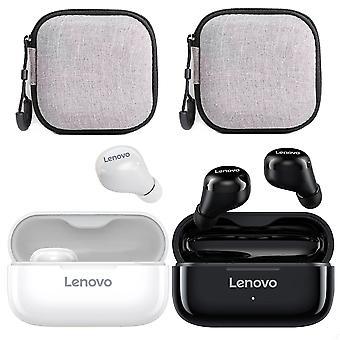 2 stk Lenovo Lp11 Trådløse Øretelefoner Hd Stereo Bt 5.0 Bluetooth Headset Med Øretelefon Tilfelle