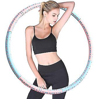 Hula Hoop lesté pour l'exercice adulte
