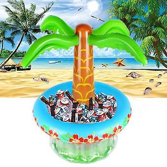 Tree Oasis felfújható party hűvösebb tartós nyári felfújható víz úszók trópusi medence játékok ital hűtő