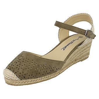 Doamnelor Anne Michelle deschide sandale spate