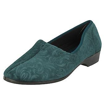 Ladies Lady Love Slip On Slippers Cora