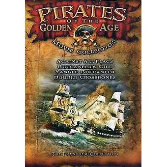 Pirates of the Golden Age Movie Collection [DVD] USA import