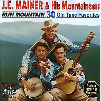 J.E. Mainer - kör Mountain [CD] USA import