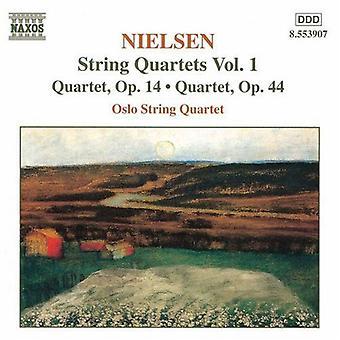 C. Nielsen - Nielsen: String Quartets [CD] USA import