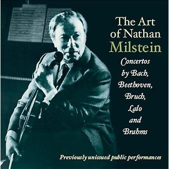 Bruch/Bach/Brahms - The Art of Nathan Milstein [CD] USA import