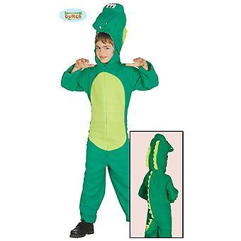 Dino krokodil kostym alligator kostym barn