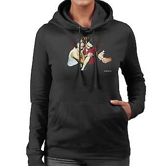Die Libertines Album Cover Damen Sweatshirt mit Kapuze