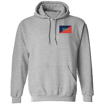 Personal & Personal Support Branch SPSB Stickerei TRF Logo - offiziellen britischen Armee Hoodie