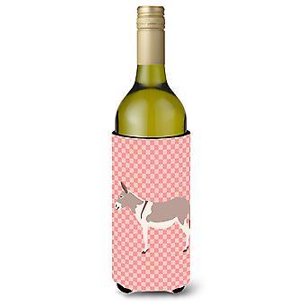 Australian rekkakuski aasi Pink tarkistaa viinipullo Beverge eriste Hugger