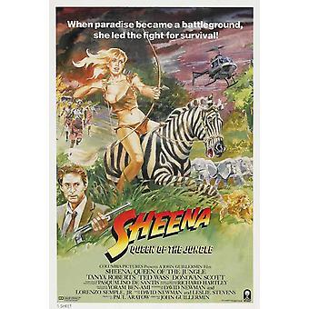 Постер фильма Sheena (11 x 17)