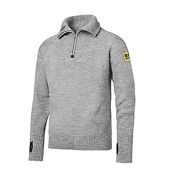 Snickers 1/2 Zip Pure Wool Sweater - 2905