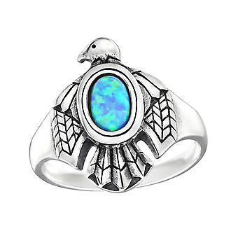 Eagle - 925 Sterling Silver Jewelled Rings - W32330X