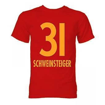 Bastian Schweinsteiger Bayern München Hero T-shirt (Rood)