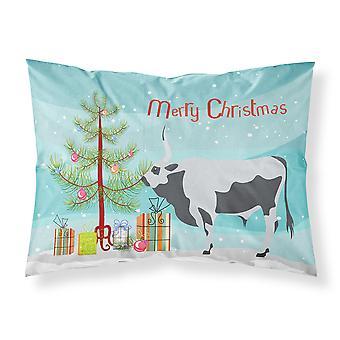 السهوب الرمادية الهنغارية البقر عيد الميلاد النسيج القياسية وسادة