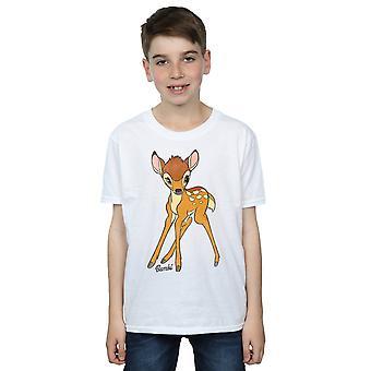 ديزني الأولاد بامبي القميص البنبي كلاسيكية