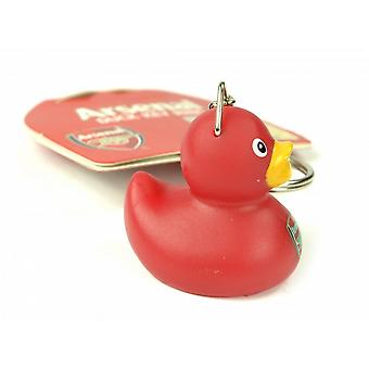 Arsenal FC Official Football Mini Duck Keyring