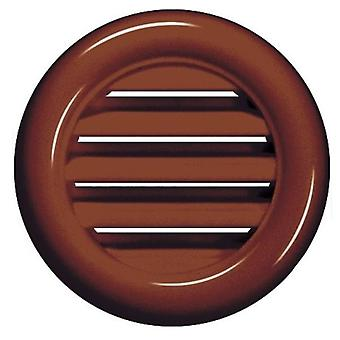 White/Brown Joinery Door Air Vent Grille Woodwork Furniture 40mm Diameter Hole