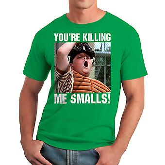 Sandlot Killing Catcher Men's Kelly Green T-shirt