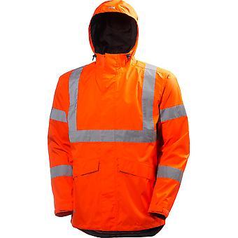 Helly Hansen Mens Alta Shelter waterdichte High-Vis werkkleding jas